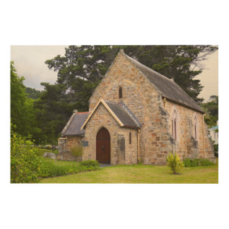 St. George's Church In Knysna, Garden Route Wood Print