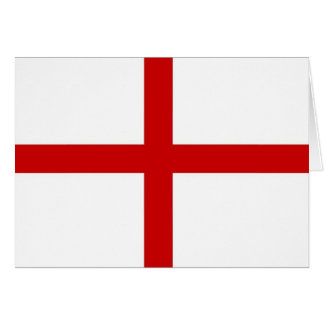 St. George's Cross Greeting Card