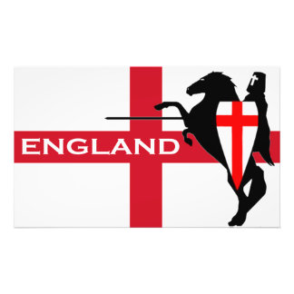 St. George's Day England Flag Art Poster