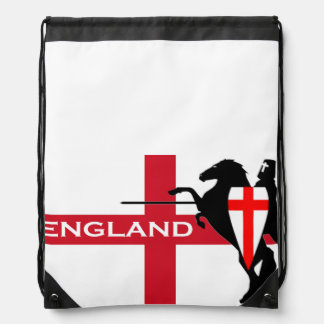 St. George's Day England Flag Drawstring Backpack