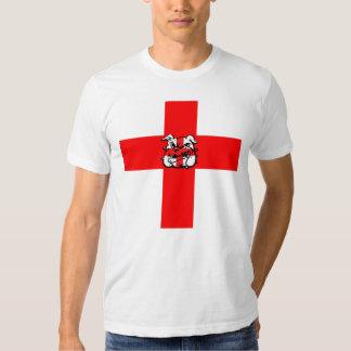 St George's Day English Bulldog T Shirt