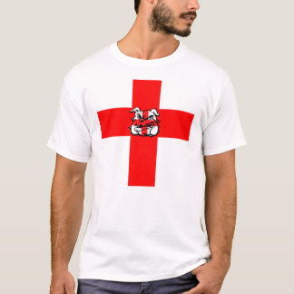 St George's Day English Bulldog T-Shirt