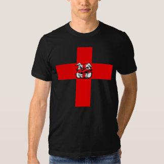 St George's Day English Bulldog T-shirt
