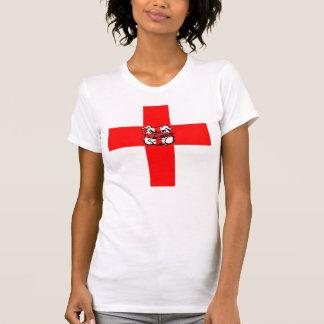 St George's Day English Bulldog Tshirts