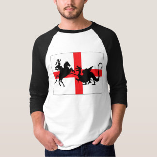 St George's Day English flag Tee Shirt