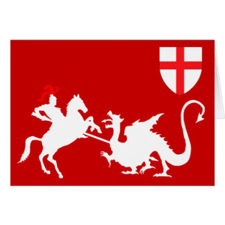 St.George's Day Greeting Card