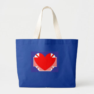 St George's Day Large Tote Bag