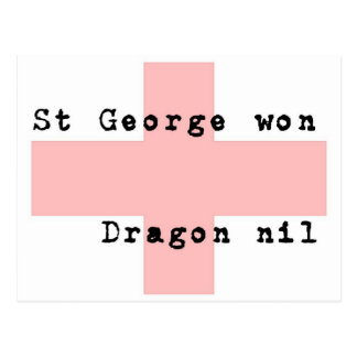 St George's Day Postcard