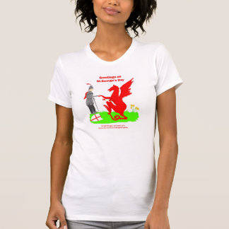 St.George's Day tshirts for her