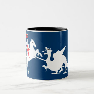 St George's Day Two-Tone Coffee Mug