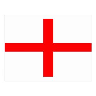 ST GEORGES FLAG - PLAIN POSTCARD