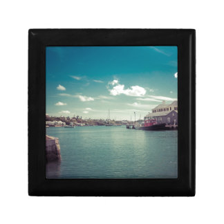 St Georges Pier Small Square Gift Box