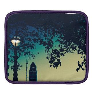 St George's Tower with London street lamp iPad Sleeve