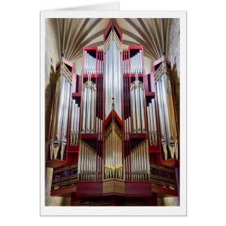 St Giles Cathedral organ card (vertical)