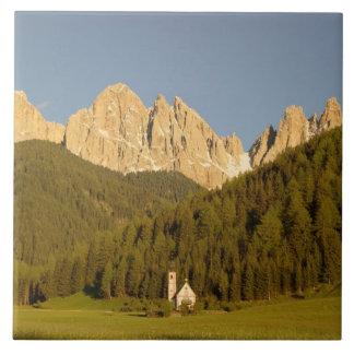 St Giovanni, Val di Funes, Dolomites, Italy Tile