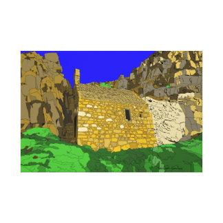 St Govans Chapel Pembrokeshire Canvas Print