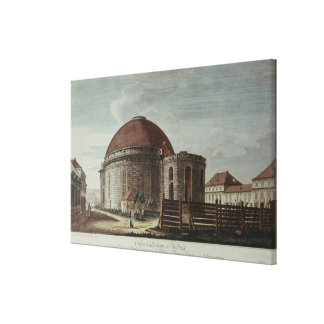 St. Hedwig, Cathedral, Berlin Canvas Print