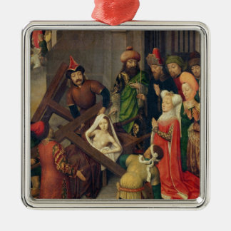 St. Helena and the Miracle of the True Cross Christmas Ornament