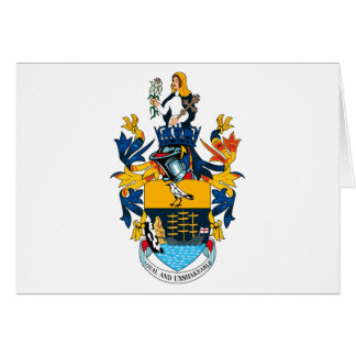 St. Helena Coat of Arms Greeting Card