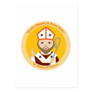 St. Hilary of Poitiers Postcard