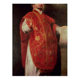 St. Ignatius of Loyola  Founder of the Jesuits Postcard