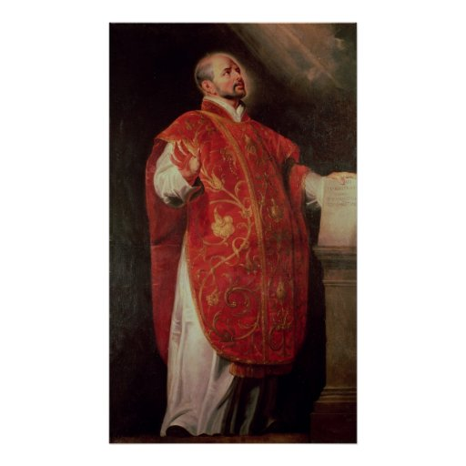 St. Ignatius of Loyola  Founder of the Jesuits Print