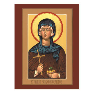 St. Irene Chrysovolantou Prayer Card Postcard