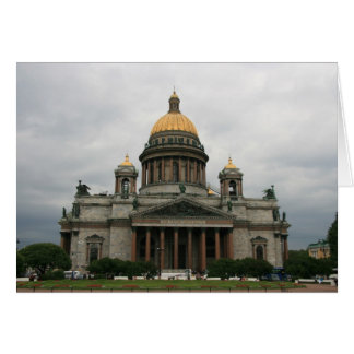 St Isaac's Cathedral Greeting Card