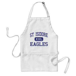 St Isidore Eagles Middle Baton Rouge Adult Apron