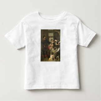 St. Isidore saves a child that had fallen in a wel T Shirts