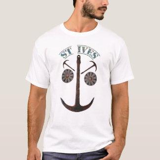 St Ives Anchor Man T-Shirt