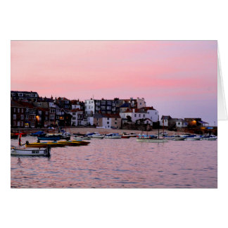 St Ives at Night Card