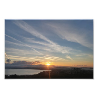 St.Ives Bay Sunrise Photo Print