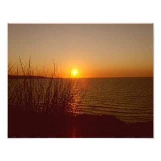 St ives bay sunset photo print