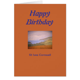 St Ives Cornwall Card