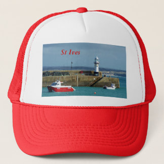 St Ives Cornwall England Trucker Hat