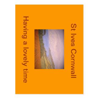St Ives Cornwall Postcard