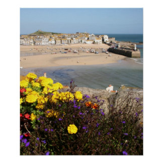 St Ives Cornwall Poster