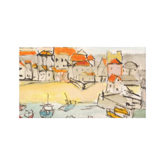 St Ives Cornwall Print on Canvas Canvas Print