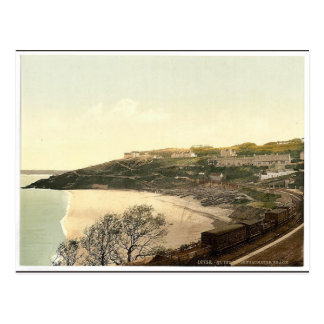 St. Ives, Porthminster Beach, Cornwall, England cl Postcard