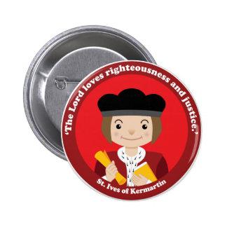 St. Ivo Kermatin 6 Cm Round Badge