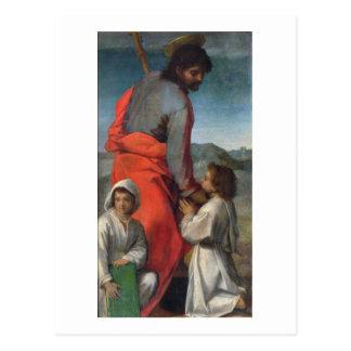 St. Jacob, c.1524-29 (oil on canvas) Postcard