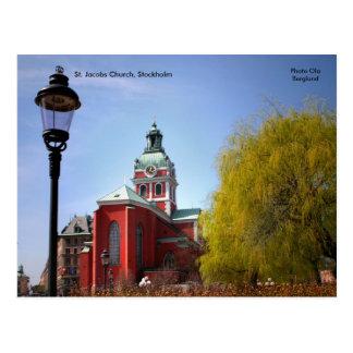 St. Jacobs Church, Stockholm, Ph... Postcard