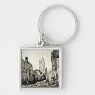 St. Jacob's Church, Ypres, June 1915 Key Ring