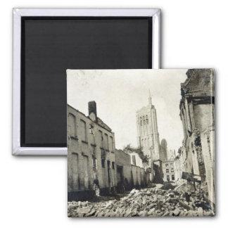 St. Jacob's Church, Ypres, June 1915 Magnet