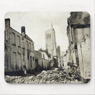 St. Jacob's Church, Ypres, June 1915 Mouse Mat