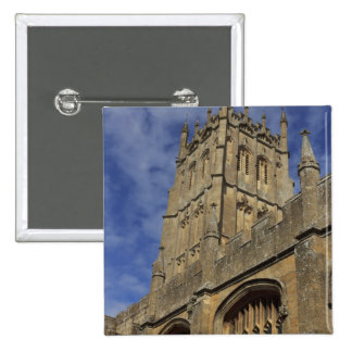St. James Church Tower, Chipping Camden 15 Cm Square Badge