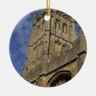 St. James Church Tower, Chipping Camden Christmas Ornament