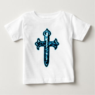 St James Cross in Blue Tint Baby T-Shirt