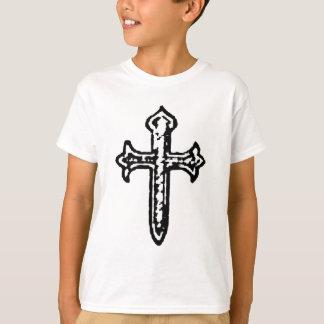 St James Cross VINTAGE BW T-Shirt